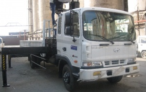 Hyundai HD120 HIAB160TM корзина